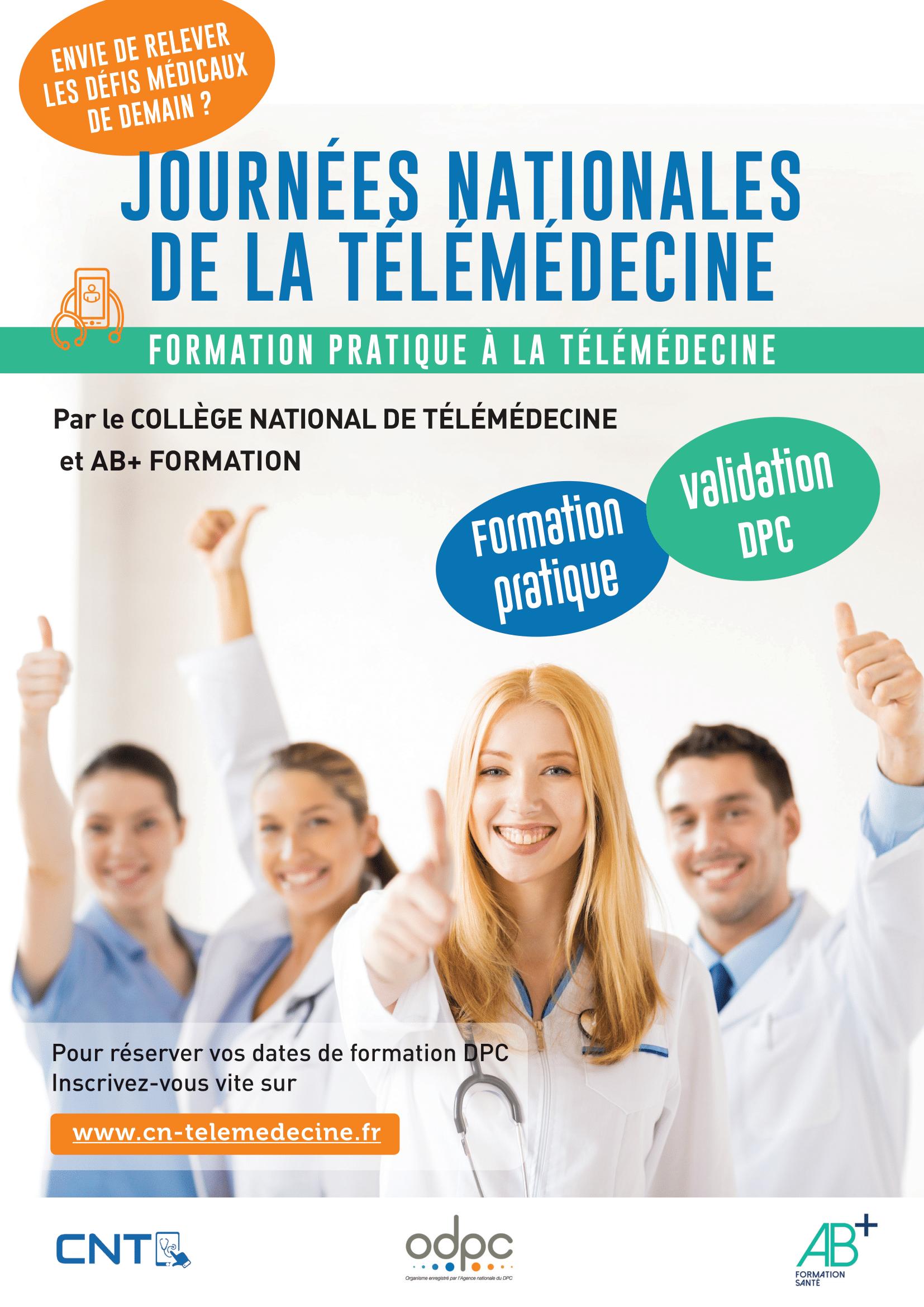 Journées Nationales de Télémédecine : formation pratique à la télémédecine